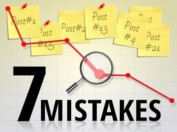 7 greșeli comune de conducere și management